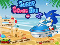 Игра Sonic the Hedgehod на воде