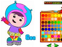игра раскраска умизуми играть онлайн бесплатно