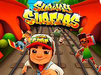 Игра Subway surfer Джонни