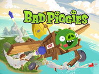 Игра Bad piggies 2015