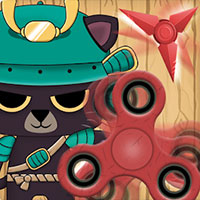 Игра Samurai cat spinner