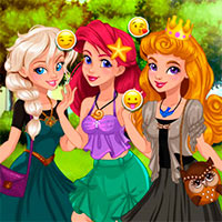 Игры для девочек стихии одевалки земля
